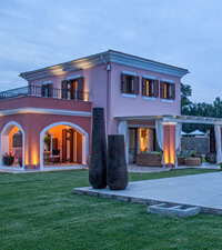 Luxury Villas in Corfu