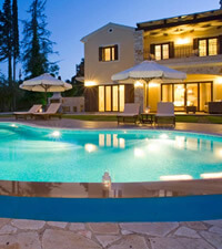 Villas in Corfu