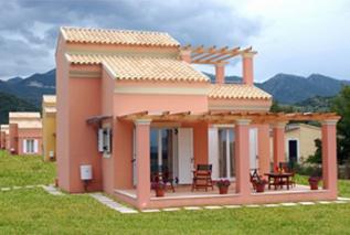 Villa Filia (maisonettes) in Corfu Almiros