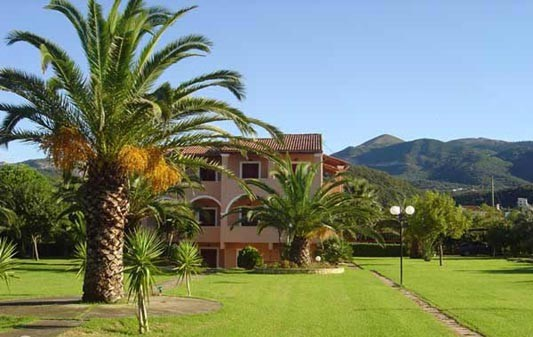 Villa Pami apartments in Almiros Corfu