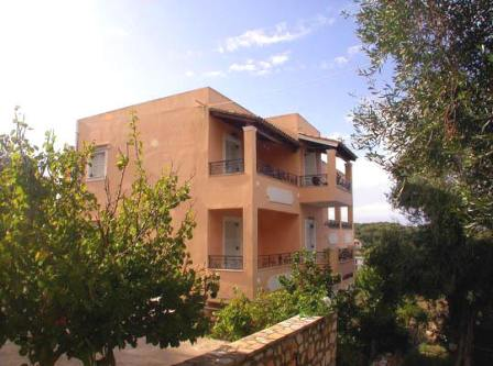 Villa Bambas-apartments in Corfu Astrakeri