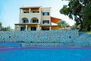 Villas in Corfu -Villa Melenia in Almiros