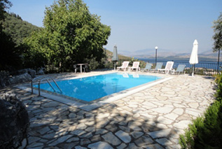 Villas in North East Corfu-Villa Chrisoula