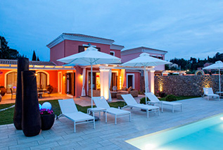 Luxury villas in Corfu -Villa Anna in Dassia