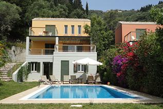 Villas in Corfu-villa Frini