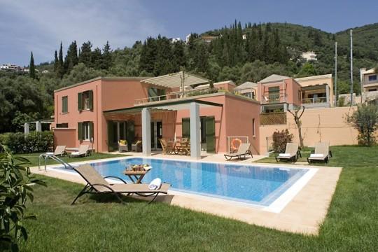 Villa Pythia in Kalami Corfu