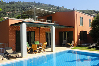 Villa Niovi in Kalami Corfu