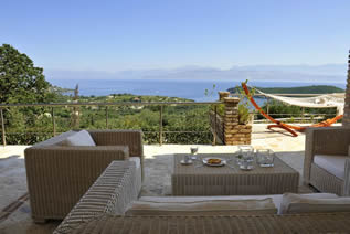 Luxury villa Spada in Northern East Corfu