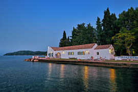 Luxury Seafront Villas Aphrodite in Agia Pelagia Corfu