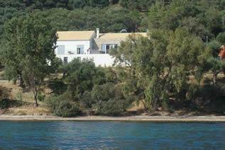 Villas in Corfu-Villa Apanemia mare