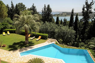 Villas in Corfu-Luxury Villa Castle in Kommeno