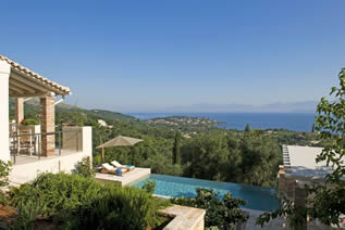 Luxury villa Doria in Avlaki Corfu