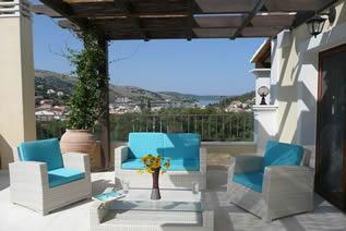 Ferienvilla mit Pool für 8 Personen Kassiopi Korfu