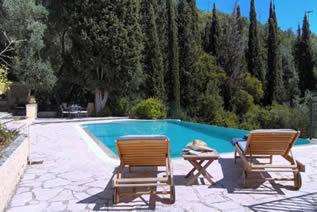 Villa Jacomo in Pyrghi Korfu -Ferienvilla mit Pool