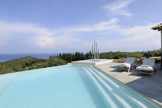Luxus-Villa Olive Press in Nord Korfu