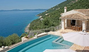 Villas in Corfu-Luxury villa Grillo in Agni