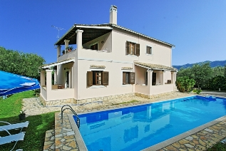 Korfu Ferienwohnungen mit Pool -Villa Areti