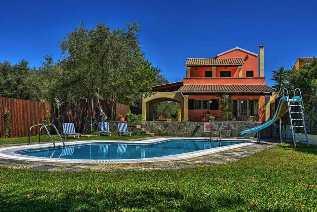 Villas in Corfu, villa Andrea in Agios Spyridon