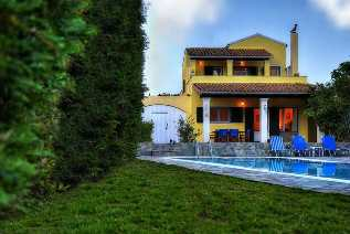 Villas in Corfu, villa Patric