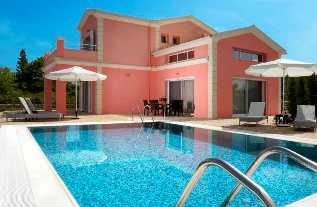 Villas in Corfu- Villa Roses