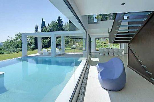 Luxury villa in Corfu-villa Benessere