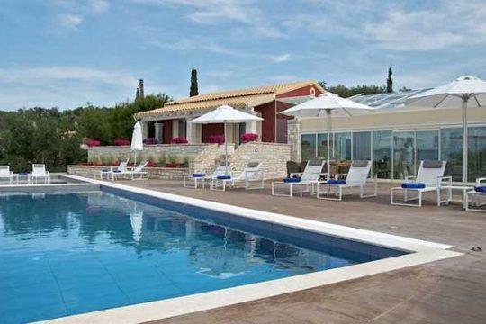 Luxury Villa Afroditi in Agios Spiridon Northern Corfu