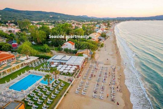 """Seaside"" Beach apartments in Corfu Acharavi"