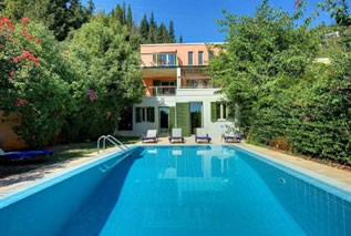 Villas in Corfu, villa Filira